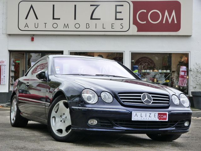 mercedes COUPE CL