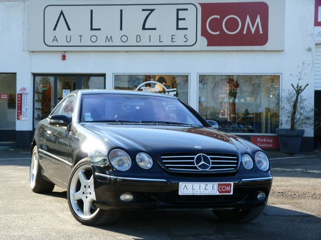 mercedes CLASSE S COUPE/CL