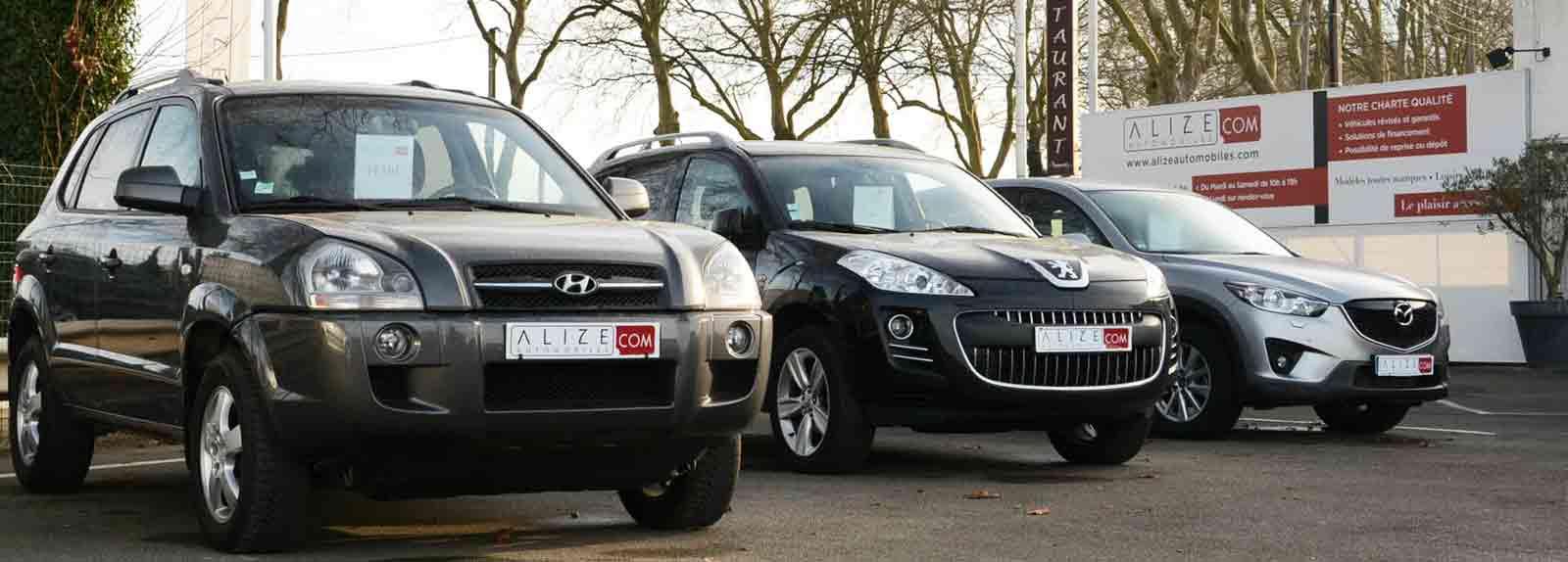Alizé Automobiles leader depuis 10 ans dans la vente de véhicules d'occasion premium