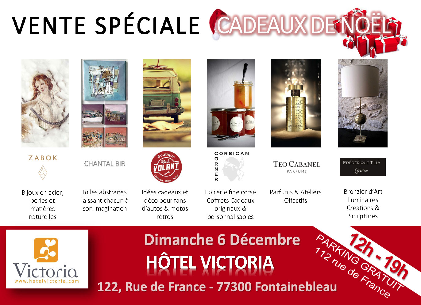 Vente Spéciale Cadeaux à Fontainebleau