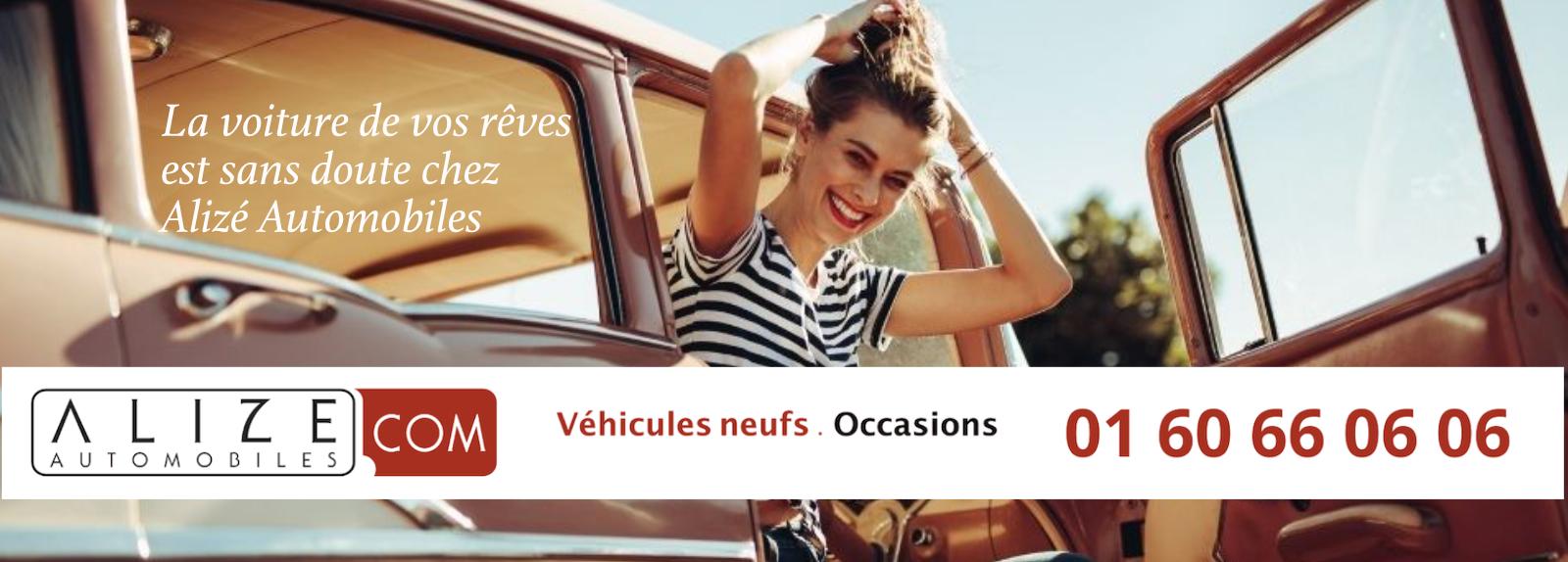 La voiture de vos rêves est chez Alizé Automobiles