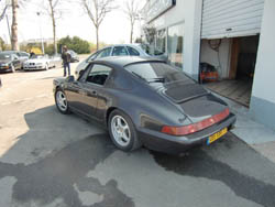 Quentin, 14 ans, à bord d'une Porsche