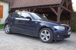 Nathalie a acheté un BMW série d'occasion chez Alizé